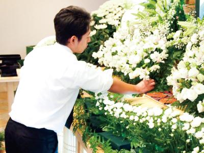 お葬式のお仕事
