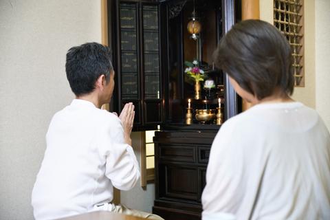 お仏壇・仏具を祀ります